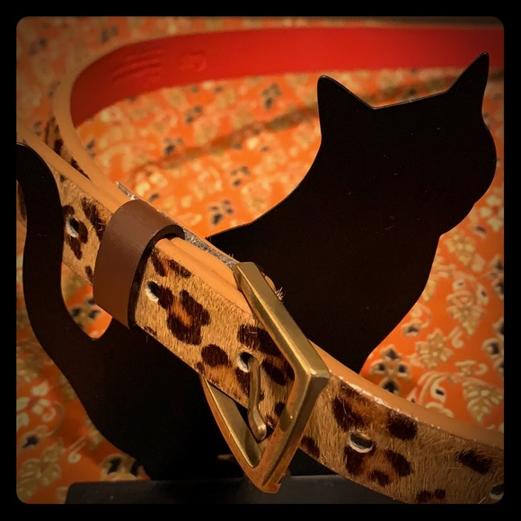 GAP Accessories - Gap cheetah leather belt